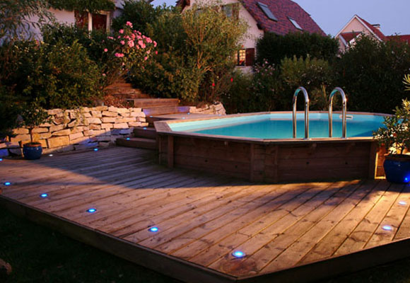 piscine bois de